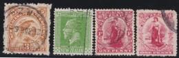 NZ    .     SG   .    4   Stamps     .        O  .         Cancelled      .   /   .      Gebruikt - 1907-1947 Dominion