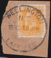 NZ    .     SG   .   Stamp    .        O  .         Cancelled      .   /   .      Gebruikt - Gebruikt