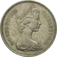 Monnaie, Grande-Bretagne, Elizabeth II, 10 New Pence, 1968, TB, Copper-nickel - 1971-… : Monnaies Décimales