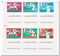 Qatar 1966, Postfris MNH, Olympic Games 1968 ( With Decorative Field ) - Qatar