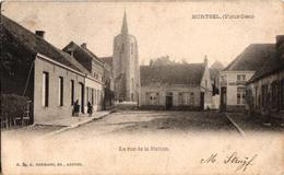 1 Oude Postkaart  MORTSEL Oude God Stationstraat Uitg.Hermans N°54  1903 - Mortsel