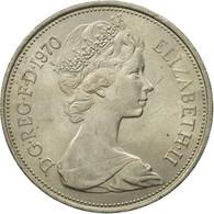 Monnaie, Grande-Bretagne, Elizabeth II, 10 New Pence, 1970, TB+, Copper-nickel - 1971-… : Monnaies Décimales