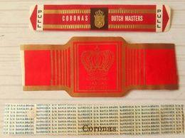 J79 Lot Bagues De Cigares  Coronas  3 Pièces - Cigar Bands
