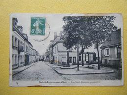 SAINT AIGNAN. La Rue Saint François. - Saint Aignan