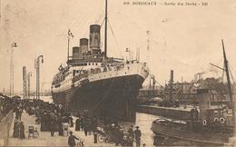 CPA-1920-BORDEAUX-PAQUEBOT -LUTETIA-Cie Navale Sud Atlantique-Sortie Des Docks-TBE-RARE - Paquebots