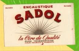 Buvard . Blotting Paper : SADOL Encoustique  Pour Meubles - Wash & Clean