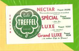 Buvard . Blotting Paper : Café TREFFEL - Coffee & Tea