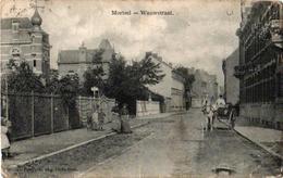 3 Oude Postkaarten MORTSEL  Wauwstraat  Een Kus Uit Mortsel  Jongensschool Lindelei  Uitgever Bongartz Internaat Jeunes - Mortsel