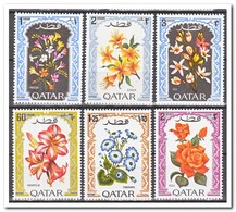 Qatar 1970, Postfris MNH, Flowers - Qatar