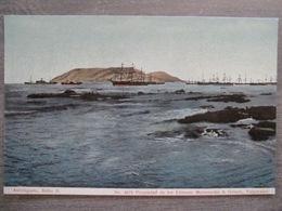 Tarjeta Postal - Chile Chili - Antofagasta - Bahia II - Boats - 4075 Mattensohn & Grimm - Valparaiso - Chile