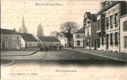1 Oude Postkaart  MORTSEL   Oude God  Gemeente Plaats    Uitg. Hermans N°53 1904 - Mortsel