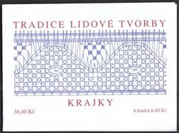Czech Republic 2003 / Tradition Of Czech Stamps, Lace, Czech - German Philatelic Exhibition OSTROPA/ MNH Booklet, Carnet - Filatelistische Tentoonstellingen
