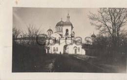 Belarus - 1918 - Polotsk - Polozk - Church - Belarus