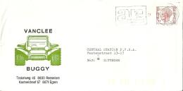 België Belgique 1980 Roeselare Egem >> Zottegem / Vanclee Buggy / Elstrom / Rodenbach - Coches