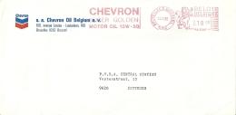 België Belgique 1982 BRU >> Zottegem / Chevron Super Golden Motor Oil - Pétrole