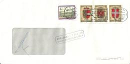 Österreich 1992 Wien >> St Jeannet Vence / Retour - 1945-.... 2ème République