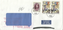 Österreich 1992 Wien >> USA / Retour - 1945-.... 2ème République
