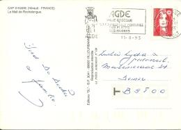 France 1993 Agde >> Deinze - Archéologie
