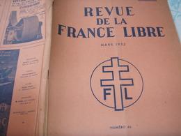 FRANCE LIBRE/ TUNISIE SABOTAGES BREUILLAC/RAUZAN PIERRE DENIS GRENOBLE/ORDRE LIBERATION /GEORGE VI /ALGER MAISON COMBAT - Livres, BD, Revues