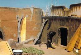 Afrique-BURKINA FASO TIEBELE Province De Nahouri La Propreté De La Cour Est L'honneur De La Femme Gourounsi Architecture - Burkina Faso
