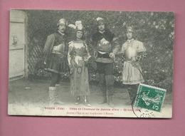 CPA  - Noyon  -(Oise) - Fêtes En L'Honneur De Jeanne D'Arc - 29 Août - Jeanne D'Arc Et Ses Capitaine à Noyon - Noyon