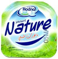 "Opercule Cover Yaourt Yogurt "" Hodna "" NATURE  Yoghurt Yoghourt Yahourt Yogourt - Opercules De Lait"