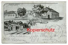 Weidlingau 1900, Restauration Zum Rehbockel - Hadersdorf-Weidlingau, Bei Wien - Penzing - Sonstige