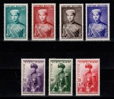 Vietnam - YV 22 à 28 N** Prince Bao Long Serie Complete - Viêt-Nam