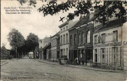 1 Oude Postkaart  MORTSEL   Oude God Mechelse Steenweg Café Restaurant Estaminet De Zwaan   Uitg.  Bongartz - Mortsel