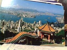 HONG KONG KOWLOON From The PEAK N1980  GU3014 - Cina (Hong Kong)
