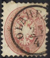 AUSTRIA HUNGARY ROMANIA 1863/54  5 Kr @ OLÁHFALU -SZENTEGYHÁZA Now VLAHITA   OPM - Usados