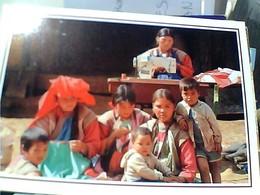 THAILAND GIRL MOUNTAIN FOLK LEE CHO SEWING CUCE  SARTA  VB1995  GU3015 - Tailandia