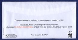 FRANCE WWF. Ensemble Préservons L'environnement. Orange. - Organizations