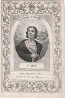 Jacobus Van Acker-naudts-desteldonck-1852-DOOR VORIGE EIGENAAR GEKNIPT  !! - Images Religieuses