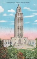 Louiana Baton Rouge State Capitol Building 1942 - Baton Rouge