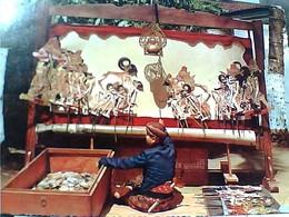 INDONESIA Central Java Puppet Show WAJANG KULIT DJAWA TENGHA  MARIONETTE TEATRO S1968  GU3017 - Indonesia
