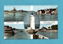 50 Manche Morsalines Souvenir Carte Multivues Format 9 X 14 - France