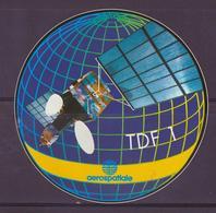 ESPACE - ARIANE Vol Du 1988/10 V26 - Arianespace - 1 Autocollant - Europe