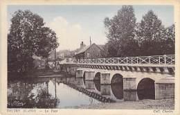 21 - TOUTRY : Le Pont - CPA Colorisée Village ( 450 Habitants ) - Côte D'Or - France