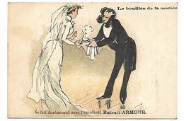 CHROMO - ARMOUR & Co, Chicago, Extrait De Viande - Le Bouillon De La Mariée - Chromos