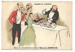 CHROMO - ARMOUR & Co, Chicago, Extrait De Viande - Après Le Cotillon - Chromos