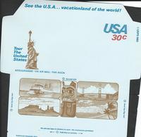 USA. Scott # UC53 Mint. Air Letter Sheet. Statue Of Liberty 1980 - Entiers Postaux