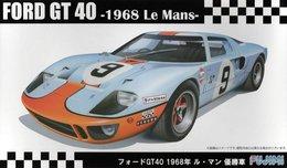 Ford GT40 1968 Le Mans 1/24 ( Fujimi ) - Cars
