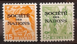 SUIZA. Oficial. Sociedad De Naciones. NUEVO - MNH. - Svizzera