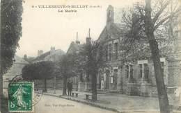 """CPA FRANCE 77 """"Villeneuve Sur Bellot, La Mairie"""" - France"""