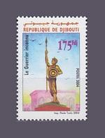 DJIBOUTI GUERRIER INCONNU UNKNOWN SOLDIER 2004 Michel Mi 795 MNH ** RARE - Djibouti (1977-...)