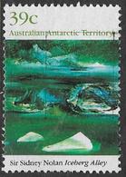 Australian Antarctic Territory SG85 1989 Paintings 39c Good/fine Used [16/14932/6D] - Australian Antarctic Territory (AAT)