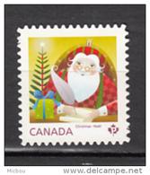 Canada, MNH, 2014, Lettre Du Père-noël, Santa Claus Letter, écriture, Writting, Plume, Pluck, Noël, Christmas, Die Cut - Weihnachten