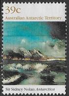 Australian Antarctic Territory SG84 1989 Paintings 39c Good/fine Used [16/14933/6D] - Australian Antarctic Territory (AAT)