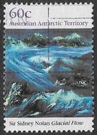 Australian Antarctic Territory SG86 1989 Landscape Paintings 60c Good/fine Used [1/0322/6D] - Australian Antarctic Territory (AAT)